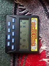 Classic Bonus Handheld Poker Game Bright Works Great For Gambling