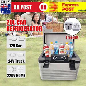 20L Car Home Use Mini Fridge Portable Refrigerator Cooler Warmer Camping Truck C