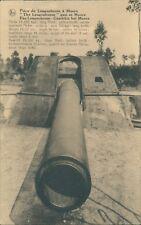 Postcard WW1 Artillery piece at moere unposted