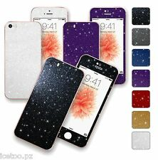 For iPhone SE DIAMOND GLITTER Shimmering Decal Wrap Sticker Skin