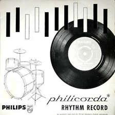 """Unknown Artist Philicorda Rhythm Record 7"""" Mono Sma Vinyl Schallplatte 31298"""