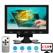"Portable 7"" CCTV Monitor 1024*600 PC Screen USB Power 5V/2A AV/RCA/VGA/HDMI/BNC"