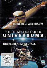 DOPPEL-DVD - Geheimnisse des Universums - Reiseziel Weltraum u.a.