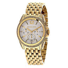 Michael Kors Stainless Steel Band Unisex Wristwatches