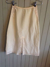 Vintage Blanche by Ralph Montenero cream small 1/2 slip with with slit