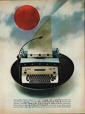1961 ROYAL ELECTRIC TYPEWRITER VINTAGE LAMINATED AD ART SUPER FAST SHIPPING!!!