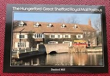 Denford Mill Hugerford Great Shefford Berkshire Royal Mail Post Bus Post Card