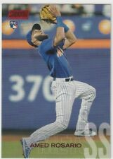 2018 Topps Stadium Club - AMED ROSARIO - No-260 Rookie Red Parallel RC Mets