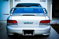 FIT 93-00 SUBARU IMPREZA STI GC8 V5 TRUNK SPOILER W/ BRAKE LIGHT UNPAINT