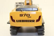 Wsi 04-1047 Liebherr R 970 Amarillo Excavadora de Cadenas Kobi 1:50 Nuevo