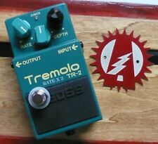 Boss TR-2 Tremolo Alchemy Audio Modified Guitar Effects Pedal