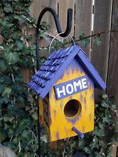 Rustic Decorative Farmhouse Wood Shingled Roof Birdhouse