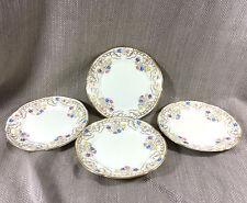 4 Foley China Tea Plates Antique Vintage E. Brain & Co. LTD Plate