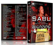 Best of Sabu in ECW 5 DVD Set, Extreme Championship Wrestling WWE