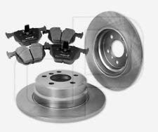 2 Bremsscheiben + 4 Bremsbeläge BMW hinten | Hinterachse 324 mm unbelüftet