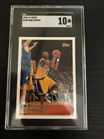 1996-97 Topps Basketball #138 Kobe Bryant RC Rookie Lakers PSA SGC 10 GEM MINT