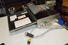 Marsh Video Jet Mini Mark 16784 & Kid 5 Ink Jet Printer Control Head & Keyboard