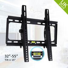 UK LCD LED TV Tilting Wall Mount Bracket for 32 37 38 40 42 46 50 52 55 Monitor
