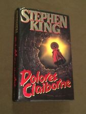Dolores Claiborne Stephen King Hardback Book 1993 1st Edition 1st Printing