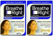 Breathe Right  60 Stück Nasenpflaster LARGE hautfarben / tan - besser atmern
