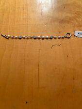 Tone Pearl Bracelet Zz3 $44 Raph Lauren Silver