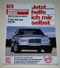 Reparaturanleitung Mercedes W124 Diesel 200 250 300 D TD, Baujahre ab 1984