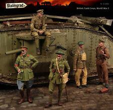 Stalingrad 1:35, British Tank Corps, Big Set (5 Chiffres), WWI, S-1100