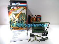 GI Joe Real American Hero 1984 Bivouac Battle Station Complete w/ Box Blueprints