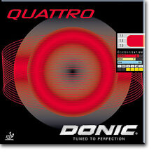 Donic Quattro Revestimiento de Tenis de Mesa Revestimiento de Ping Pong