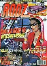 """OL' SKOOL RODZ MAGAZINE - Issue # 12 """"NEW!"""" (November 2005)"""