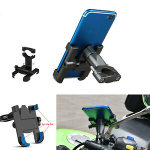 1PC Universal Aluminum Alloy Motorcycle Adjustable Phone Holder Cellphone Holder