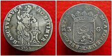Netherlands / West-Friesland - 3 Gulden 1763 ~ CNM 2.46.55
