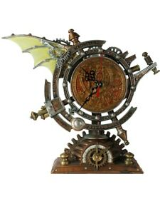 Alchemy Wall Clock Vault The Stormgrave Chronometer Clock 26.5 x 22 x 10.5cm