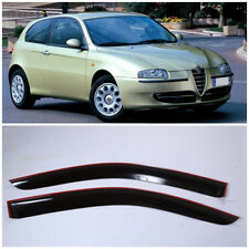 AE30300 Window Visors Guard Vent Wide Deflectors For Alfa Romeo 147 3d 2000-2010