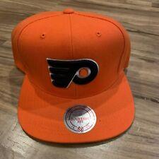 best website 83093 ecb4e NHL Philadelphia Flyers Mitchell   Ness Vintage Wool Solid Orange Snapback  Cap