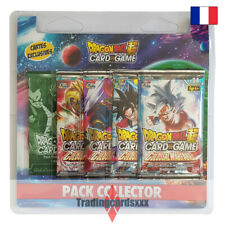 Dragon Ball Super Card Game - Pack Collector 4 boosters : Colossal Warfare