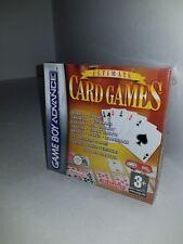 NEW Sealed Ultimate Card Games GameBoy Advance Poker hearts Spades Bridge K19