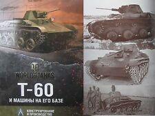 LAST COPY! Soviet WW2 Light Tank T-60 and Derivatives