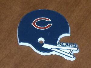 NFL Vintage CHICAGO BEARS Old RUBBER Football FRIDGE MAGNET Standings Board