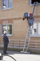 Bauaufzug GEDA Akku Leiterlift Standard 4,50 m
