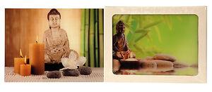 Moderne Photo Tableau Mural Bouddha 30x40cm