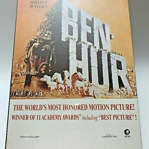 Ben Hur Motion Picture Movie Poster Jigsaw Puzzle 1100 Piece 24x36 Collectible