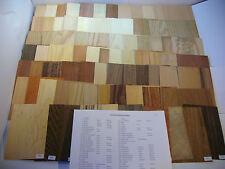 Furnier Mustersammlung, 82 Blatt,Furniere,Muster,Holzarten, Edelholz NEU!!