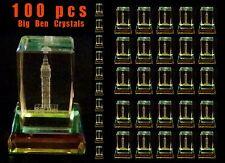 BIG BEN CRYSTAL - LONDON SOUVENIRS CRYSTAL - WHOLESALE - BIG BEN - 100 CRYSTALS