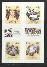 IRELAND 2004 GREETING STAMPS ANIMALS SELF ADHESIVE SET 4 UNMOUNTED MINT, MNH..