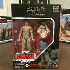 Hasbro Star Wars Luke Skywalker & Yoda Jedi Training Black Series 6 Inch Figure