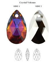 Genuine SWAROVSKI 6106 Pear Pendant Crystal Volcano 22mm