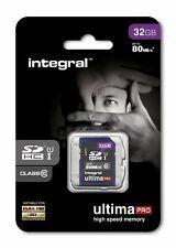 Integral 32GB SDHC Card SDHC Card HD Camcorders Digital camera Memory Card