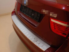 Rear Bumper Protector Double Stainless Steel Scuff Plate fit BMW X6 E71 2008-14