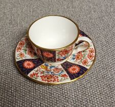 Royal Worcester Miniature Cup Saucer Compton & Woodhouse  -2
